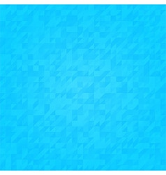 Seamless blue triangular pattern vector