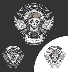 Airborne 82 vector