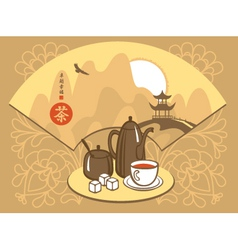 Tea ceremony vector