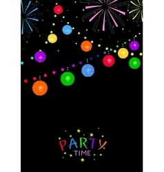 Party time vector