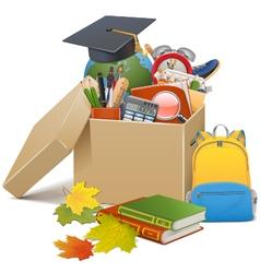 School box vector