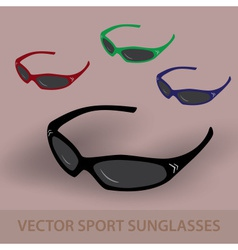 Sport sunglassess eps10 vector