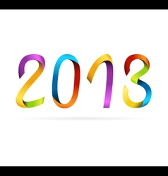 2013 rainbow design vector