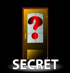 Secret icon vector