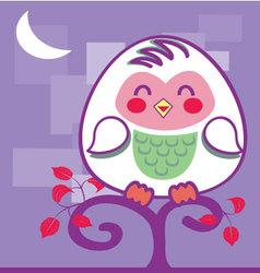 Cute-owl vector