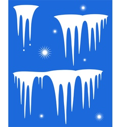 Icicle vector