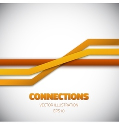 Internet people connection lines background vector