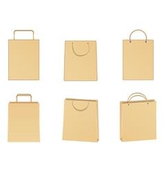 Paper bags vector