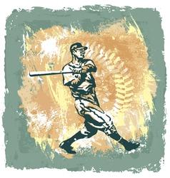 Baseball classic abstract vector
