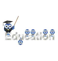 Education text vector