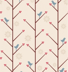 Berry bird vector