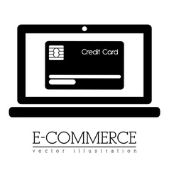 Ecommerce design vector