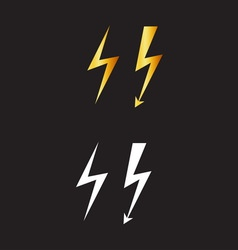 Lightnings resize vector