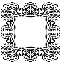 Ornamental border vector
