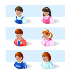 Child icon vector