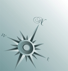Abstract compass background vector
