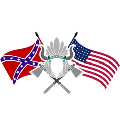 American civil war vector