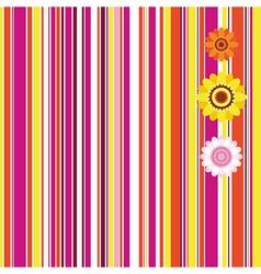 Easter seamless stripe background vector