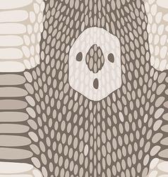 Snake skin texture seamless python skin pattern vector