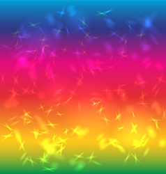 Abstract background bright saturated rainbow glare vector