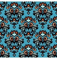 Flower pattern seamless paisley design vector
