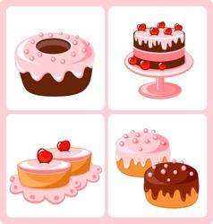 Sweet pastry vector
