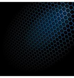 Hexagon grid vector