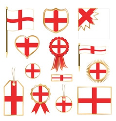 England flags vector