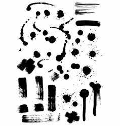 Ink effects vector
