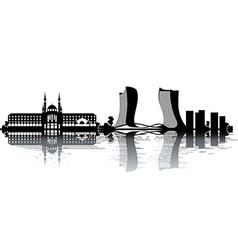 Kazan skyline vector