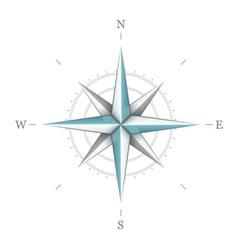 Antique wind rose symbol for vector