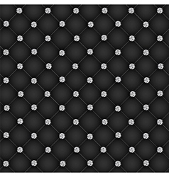 Luxury background with diamond buttons vector