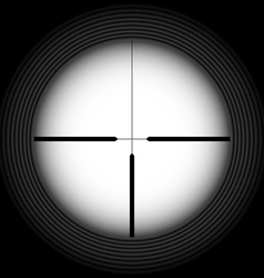 Rifle sight vector