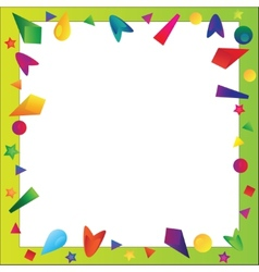 Bright frame vector