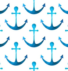 Anchor seamless background retro pattern of vector