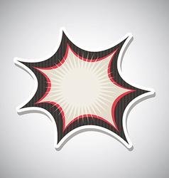 Comic design vector