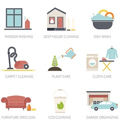House cleaning vector