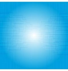 Blue tech texture design vector