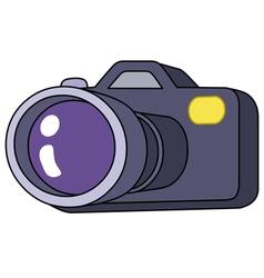 Cartoon camera vector