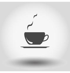 Hot coffee vector