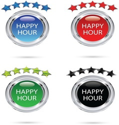 Happy hour resize vector