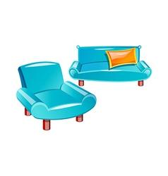 Icon sofa vector