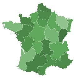 France regions vector
