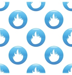 Fire sign pattern vector