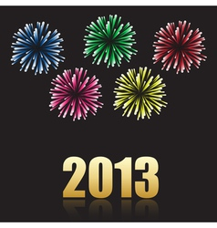2013 new year celebration vector