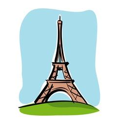 Paris tour eiffel vector