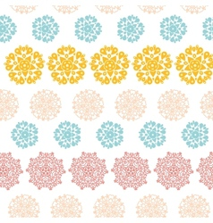 Abstract decorative circles stars striped seamless vector