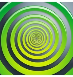 Green spiral and gray background graphic vector