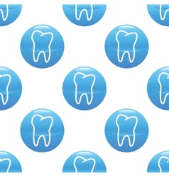 Tooth sign pattern vector