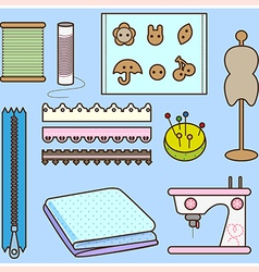 Sew tool vector
